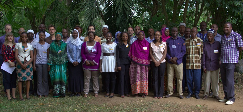 Participants at the meeting in Diani