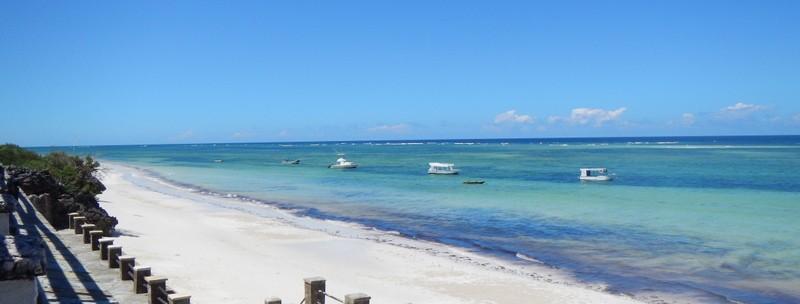 Diani beach and lagoon